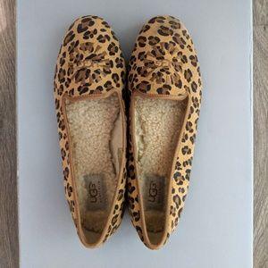 Ugg Leopard Print Loafers
